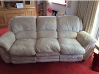 3 seater plus 2 seater couch plus storage poofe