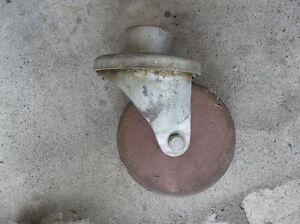 """6"""" STEEL WHEEL SWIVEL TRAILER JACK WHEEL FOR 2"""" TUBE"""
