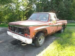 1973 chevy c10 for sale/trade for running skidoo