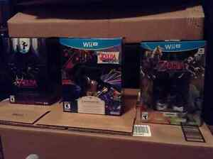 LOZ Windwaker HD LE, Majora's Mask 3D LE & Twilight Princess HD