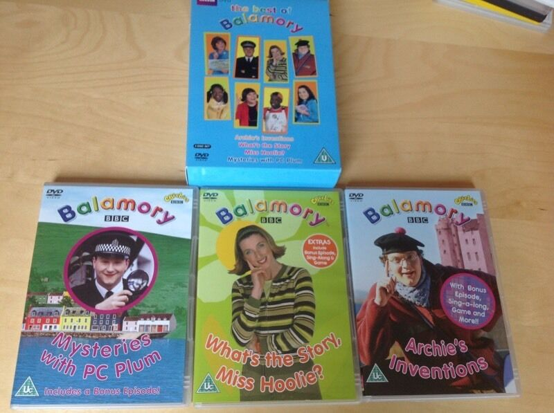 The Best Of Balamory Box Set 3 Dvds In Exeter Devon