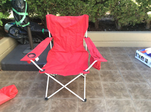 Lawn chair, new condition