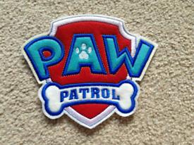 Large Paw Patrol Patch