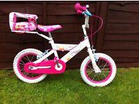 Girls pedal pet bike