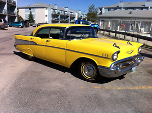 CHECK OUT THIS 57 CHEY HARDTOP  EXCELLENT CONDITION