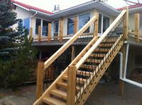 Decks, fences and framing for 25 years, big or small !