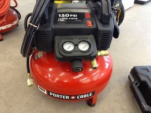 Air Compressor with Head Framing Nailer
