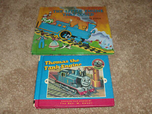 2 Thomas the Tank hard cover books- London Ontario image 1