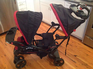 Baby Trend double eclipse sit n stand stroller