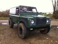 Land rover defender 110 300tdi galvanised chassis