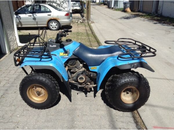 yamaha moto 4 350 for sale canada