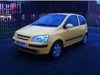 2004 HYUNDAI GETZ 1.6 SPORT 3 DOOR LOW MILES FULL MOT FULL TANK OF FUEL *JUST REDUCED BY 500*