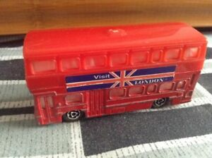 Vintage collectble diecast Majorette British Bus