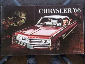 1966 Chrysler dealer showroom catalog