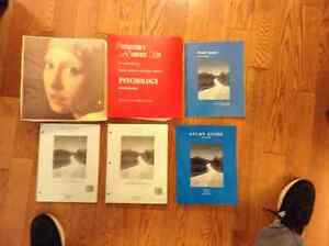 PSYCHOLOGY BOOKS WITH INSTRUCTOR'S RESOURCES