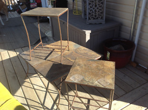 Granite and Iron Tables