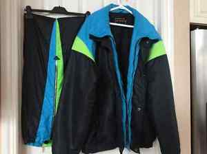 Men's designer ski/snow suit 2XTall with pants. Ex.Price