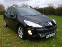 Peugeot 308 XR SW 1.6 HDI 110 BHP Only 52,000 Miles By 2 Private Owners With FSH