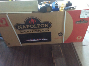 Napoleon electric wall mount fireplace