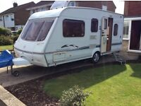 Swift Charisma 545 5 berth 2002 with motor mover & full awning