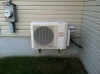 Fujitsu 18,000 Btu/h air conditionning plit ductless