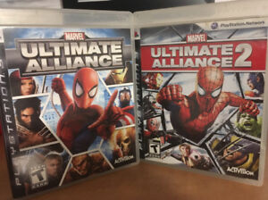 Ultimate Alliance 1-2 PS3