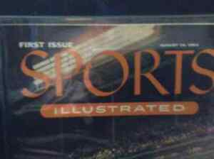 First Issue Sports Illustrated Framed