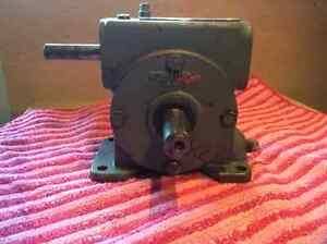 Reduction gear by Boston Gear.