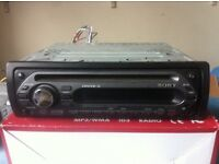 Sony car stereo cd radio with aux input