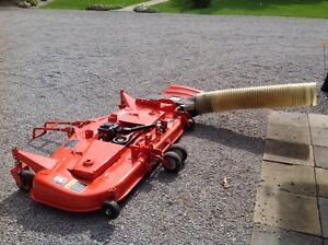 Kubota commercial grade mower deck and grass catcher Kawartha Lakes Peterborough Area image 4