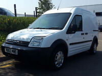 FORD TRANSIT CONNECT 230 LWB 90PS 1.8 WHITE DIESEL CHEAP VAN ###NO VAT### 83K