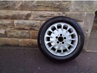 4 Mercedes alloys with tyres