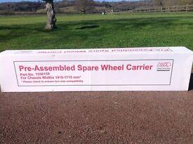 Caravan Spare Wheel Carrier