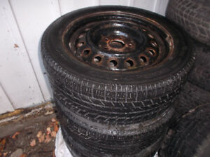 WINTER TIRES ON RIMS set of 4 205/55/16''