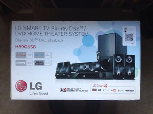 LG home theatre system.