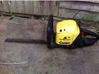 Mccoulloch two stroke petrol hedge trimmer £50.00