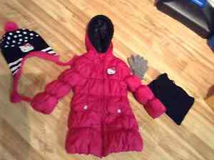 Manteau Hello Kitty - 4 ans!