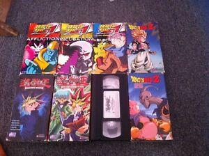 DBZ/DBGT/YUGIOH VHS