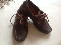 Triboro men's shoes size 8.5 leather used £8