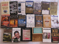 Assorted Cassette Audio Books 42 Titles Preowned Choice