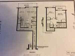 BRAND NEW 2 BEDROOMS TOWNHOME AVAILABLE FEBRUARY 1st 2017