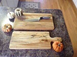 Maple butcher block and cheese board Peterborough Peterborough Area image 2