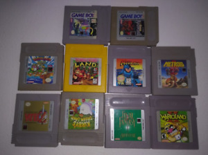 4 Jeux Gameboy Classiques - 4 Classic Gameboy Games