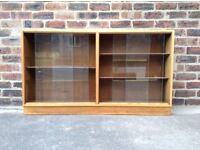 Mid Century Oak Bookcases