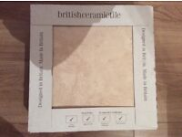 British ceramic floor tiles - Rapolano marfil