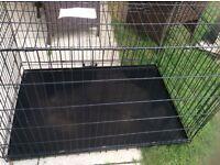 """Large dog cage 42"""" long"""