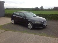 2010 Audi A3 1.6 TDI SE black March 17 good condition inside and out
