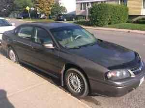 2002 Chev Impala.  Parts.