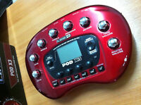 Line 6 Pod X3 - Guitar, bass and voice preamp