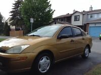 2001 Ford Focus se automatic